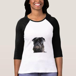 Camisa com manga pug camisetas