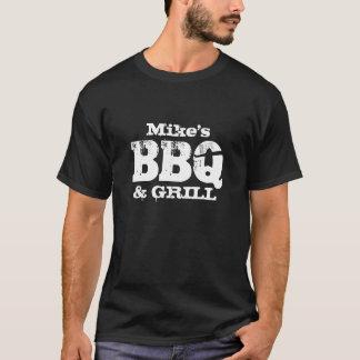 Camisa conhecida personalizada do CHURRASCO t para