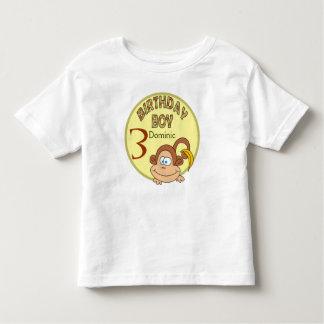 Camisa conhecida personalizada do menino do camisetas