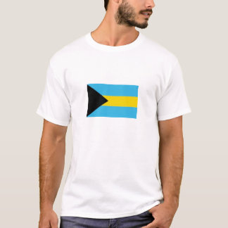 camisa da bandeira de bahamas