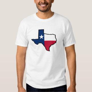 Camisa da bandeira T do estado de Texas Tshirt