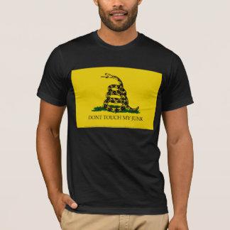 Camisa da bandeira TSA de Gadsden