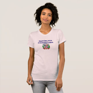 Camisa da brasão da República Dominicana