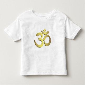 Camisa da criança do símbolo da ioga do OM (Aum)