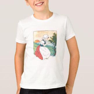 Camisa da donzela do ganso de mãe