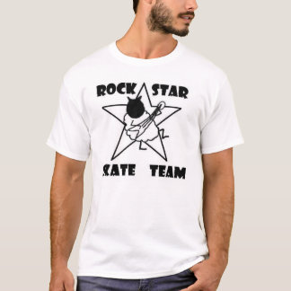 Camisa da equipe da estrela do rock