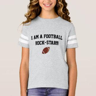 Camisa da estrela do rock do futebol