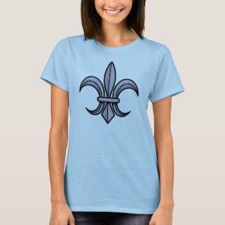 Camisa da flor de lis (prata)