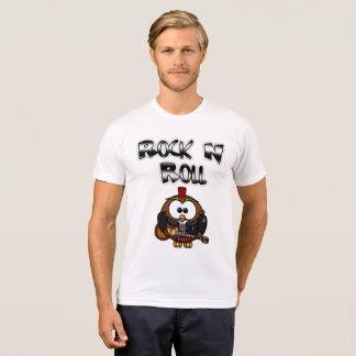 "Camisa da guitarra do ""rock and roll"" para"