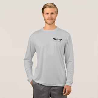 Camisa da Longo-Luva PC12 do esporte