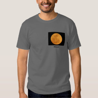 Camisa da lua T da neve Camiseta