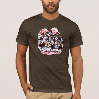 camisa da multidão da coruja
