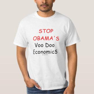 Camisa da PARADA da economia do VooDoo de Obama Camisetas