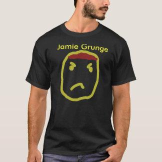 Camisa da paródia t do nirvana do Grunge de Jamie