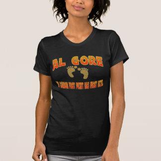Camisa da pegada do carbono de Al Gore T-shirt