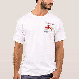 Camisa da verificação do sutiã do antro do diabo
