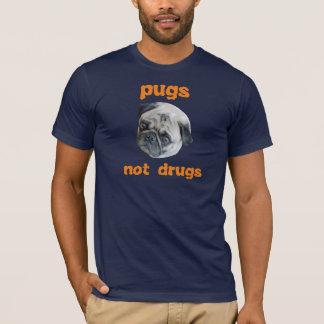 Camisa das drogas dos Pugs não