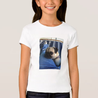 Camisa das meninas t do Pug T-shirts