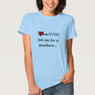 Camisa das senhoras de AVON Tshirt