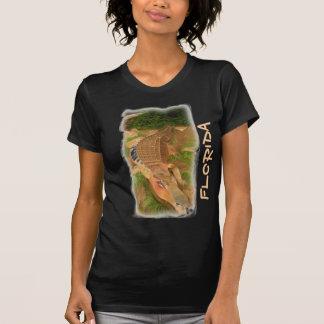 Camisa das senhoras do jacaré do metal de Florida Tshirt