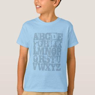 Camisa de ABC - o alfabeto