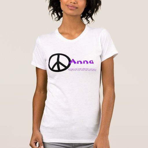 Camisa de Anna Tshirts
