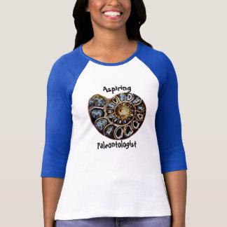 Camisa de aspiração do Paleontologist Tshirt