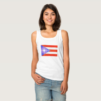 Camisa de brilho da bandeira da estrela de Puerto