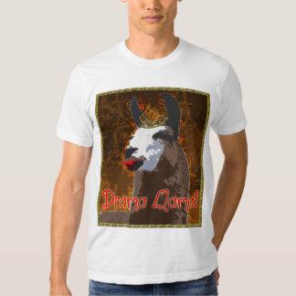 Camisa de BronzeGold do lama do drama T-shirt