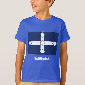 Camisa de Eureka dos miúdos com citações