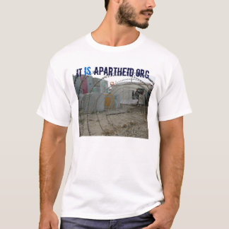 camisa de itisapartheid.org t