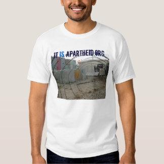 camisa de itisapartheid.org t tshirts