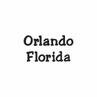 Camisa de Orlando Florida FL - customizável!!! Camiseta Bordada Polo