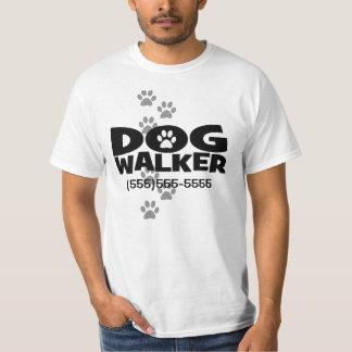 Camisa de passeio do promocional do caminhante do camisetas