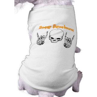 Camisa de Pawsbourne do Doggy Camisa Sem Mangas Para Cachorro