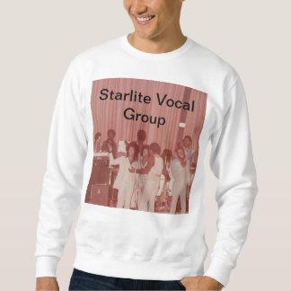 Camisa de suor vocal do grupo de Starlite