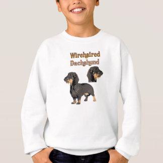 Camisa de suor Wirehaired das crianças do