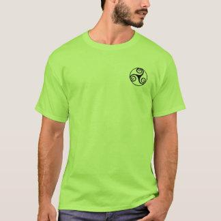 Camisa de Triskele do céltico