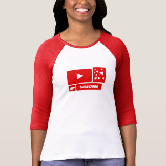 Camisa de Youtube - subscreva a camisa de Youtube
