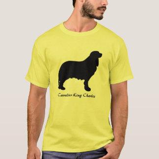 Camisa descuidado do Spaniel de rei Charles