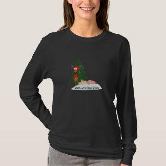 Camisa desonesto indo da rena