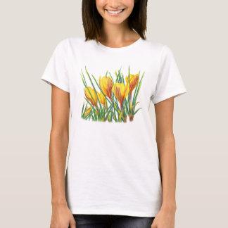 Camisa do açafrão T do primavera de PMACarlson