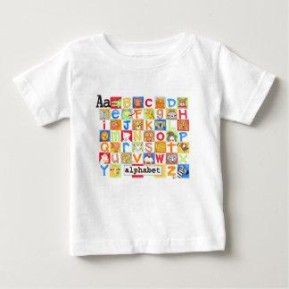 Camisa do alfabeto