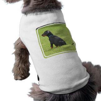 Camisa do animal de estimação do filhote de cachor roupa para caes