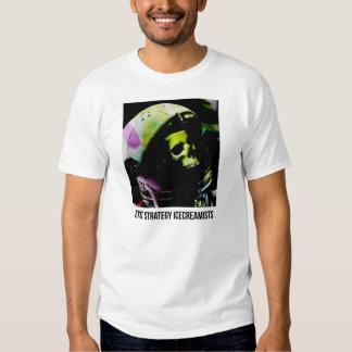 Camisa do astronauta de Icecreamists da estratégia Tshirts