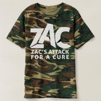 Camisa do ataque de Camo para homens