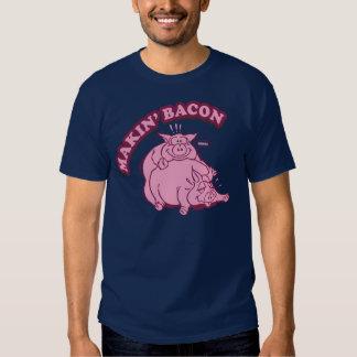 Camisa do bacon T do fazer de Makin Camiseta