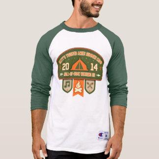 Camisa do basebol do campeão dos homens de BTA