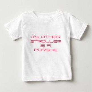 Camisa do bebê do carrinho de criança de Sassydog