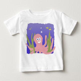 """Camisa do bebê do """"polvo"""""""